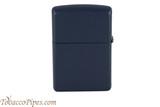 Zippo Navy Blue Matte Lighter Back
