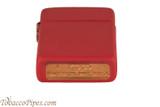 Zippo Slim Red Matte Lighter Bottom