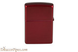 Zippo Candy Apple Red Lighter Back
