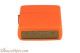Zippo Neon Orange Lighter Bottom