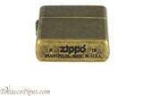 Zippo Antique Brass Lighter Bottom