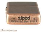 Zippo Antique Copper Lighter Bottom