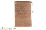 Zippo Antique Copper Lighter Back