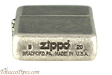 Zippo Antique Silver Color Plated Lighter Bottom