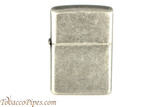 Zippo Antique Silver Color Plated Lighter
