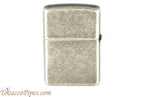 Zippo Antique Silver Color Plated Lighter Back
