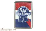 Zippo Beer Pabst Blue Ribbon USA Flag Lighter