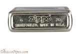 Zippo Beer Pabst Blue Ribbon White Logo Lighter Bottom
