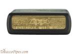 Zippo Beer Guinness Black Matte Lighter Bottom