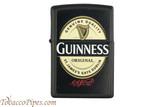 Zippo Beer Guinness Black Matte Lighter