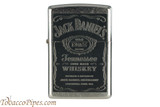 Zippo Spirits Jack Daniels Old No 7 Label Lighter
