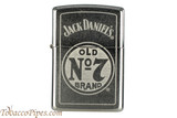 Zippo Spirits Jack Daniels Chrome Old No 7 Lighter