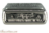 Zippo Spirits Jim Beam Pewter Emblem Chrome Lighter Bottom