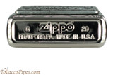 Zippo Spirits Jack Daniels Pewter Emblem Chrome Lighter Bottom