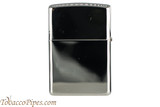 Zippo Spirits Jack Daniels Pewter Emblem Chrome Lighter Back