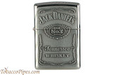 Zippo Spirits Jack Daniels Pewter Emblem Chrome Lighter