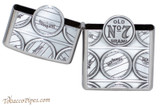 Zippo Spirits Jack Daniels Cask Chrome Lighter Open