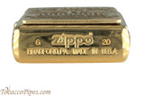 Zippo Spirits Jim Beam Emblem Brass Lighter Bottom