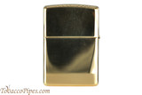 Zippo Spirits Jim Beam Emblem Brass Lighter Back