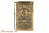 Zippo Spirits Jim Beam Emblem Brass Lighter