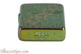 Zippo High Polish Alligator Zippo Lighter Bottom