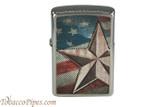 Zippo Patriotic Retro American Star Lighter