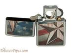 Zippo Patriotic Retro American Star Pipe Lighter