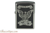 Zippo Patriotic Right to Bear Arms Eagle Lighter