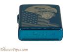 Zippo Patriotic Blue Eagle and Flag Lighter Bottom
