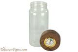 Cobblestone Humidor Tall Jar Open