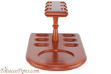 Cobblestone 6 Pipe Stand with Holder Front