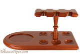 Cobblestone 6 Pipe Stand with Holder Right Side