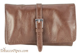Cobblestone Leather Belt Pipe Pouch