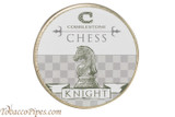 Cobblestone Chess Knight Pipe Tobacco Front