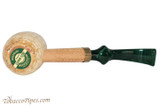 Missouri Meerschaum Emerald Bent Tobacco Pipe Bottom