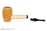 Missouri Meerschaum Tom Sawyer Black Stem Tobacco Pipe Apart
