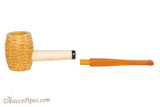 Missouri Meerschaum Huck Finn Amber Stem Tobacco Pipe Apart