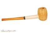 Missouri Meerschaum Huck Finn Amber Stem Tobacco Pipe Right Side