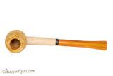 Missouri Meerschaum Huck Finn Amber Stem Tobacco Pipe Top