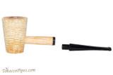 Missouri Meerschaum Mark Twain Straight Tobacco Pipe Apart