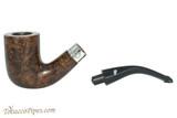 Peterson Sherlock Holmes Rathbone Dark Smooth Tobacco Pipe PLIP Apart