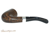 Peterson Sherlock Holmes Rathbone Dark Smooth Tobacco Pipe PLIP Bottom