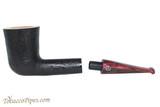 Rattray's Fudge 14 Sandblast Black Tobacco Pipe 100-0693 Apart