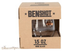 BenShot Freedom Wine Glass 15 oz Box