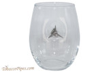 BenShot Broadhead Wine Glass 15 oz Front