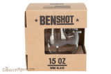 BenShot Broadhead Wine Glass 15 oz Box