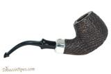 Peterson Premier System Sandblast B42 Tobacco Pipe - PLIP Right Side