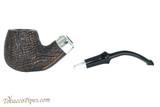 Peterson Premier System Sandblast B42 Tobacco Pipe - PLIP Apart