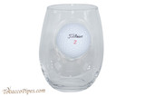 BenShot Golf Ball Wine Glass 15 oz Front