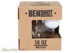 BenShot Golf Ball Wine Glass 15 oz Box